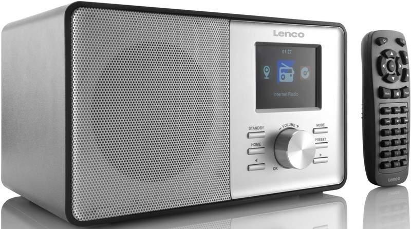 Internetové a FM rádio LENCO