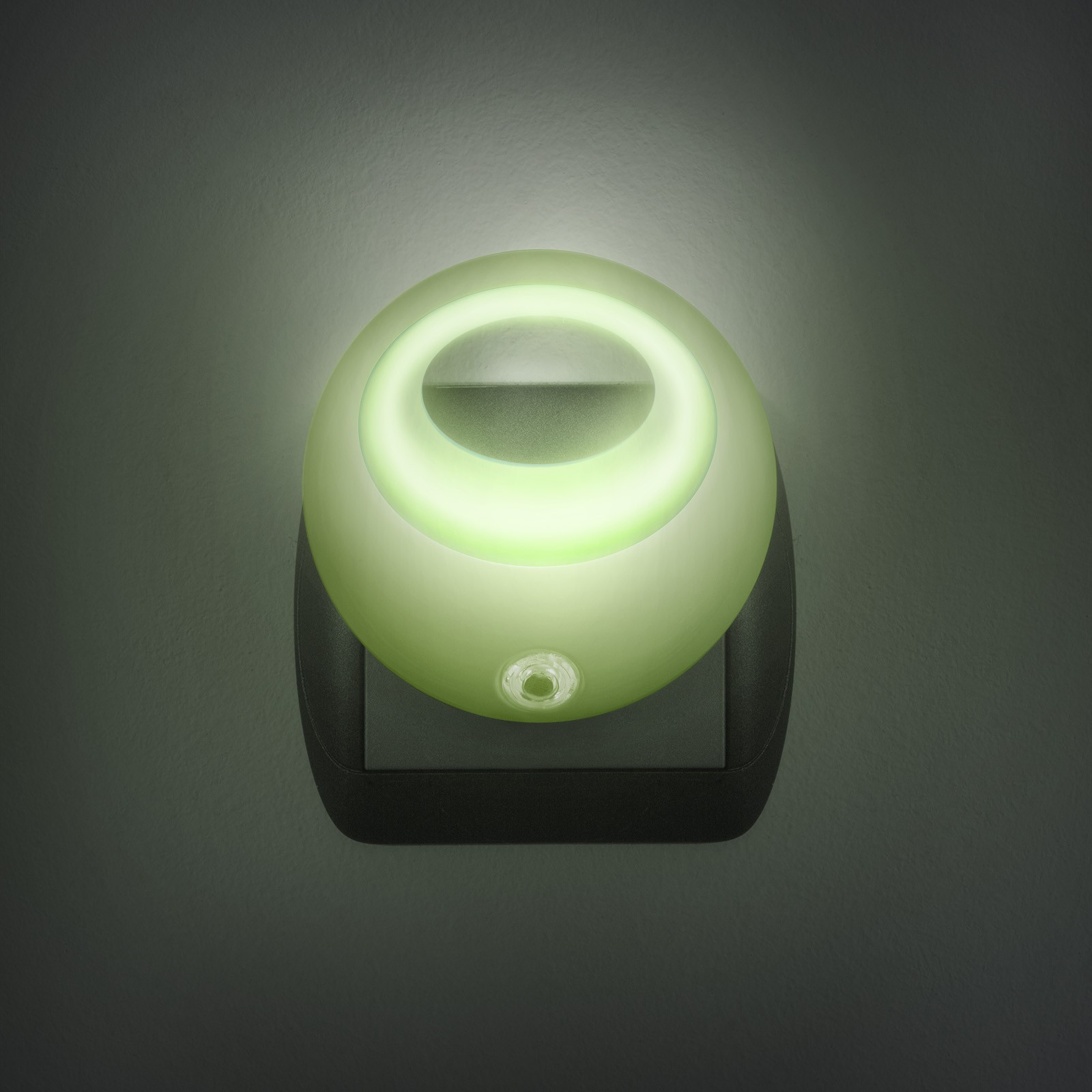Nočné svetlo so senzorom - zelené