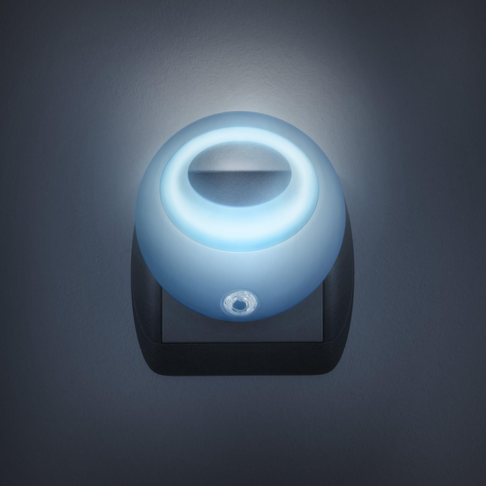Nočné svetlo so senzorom - modré