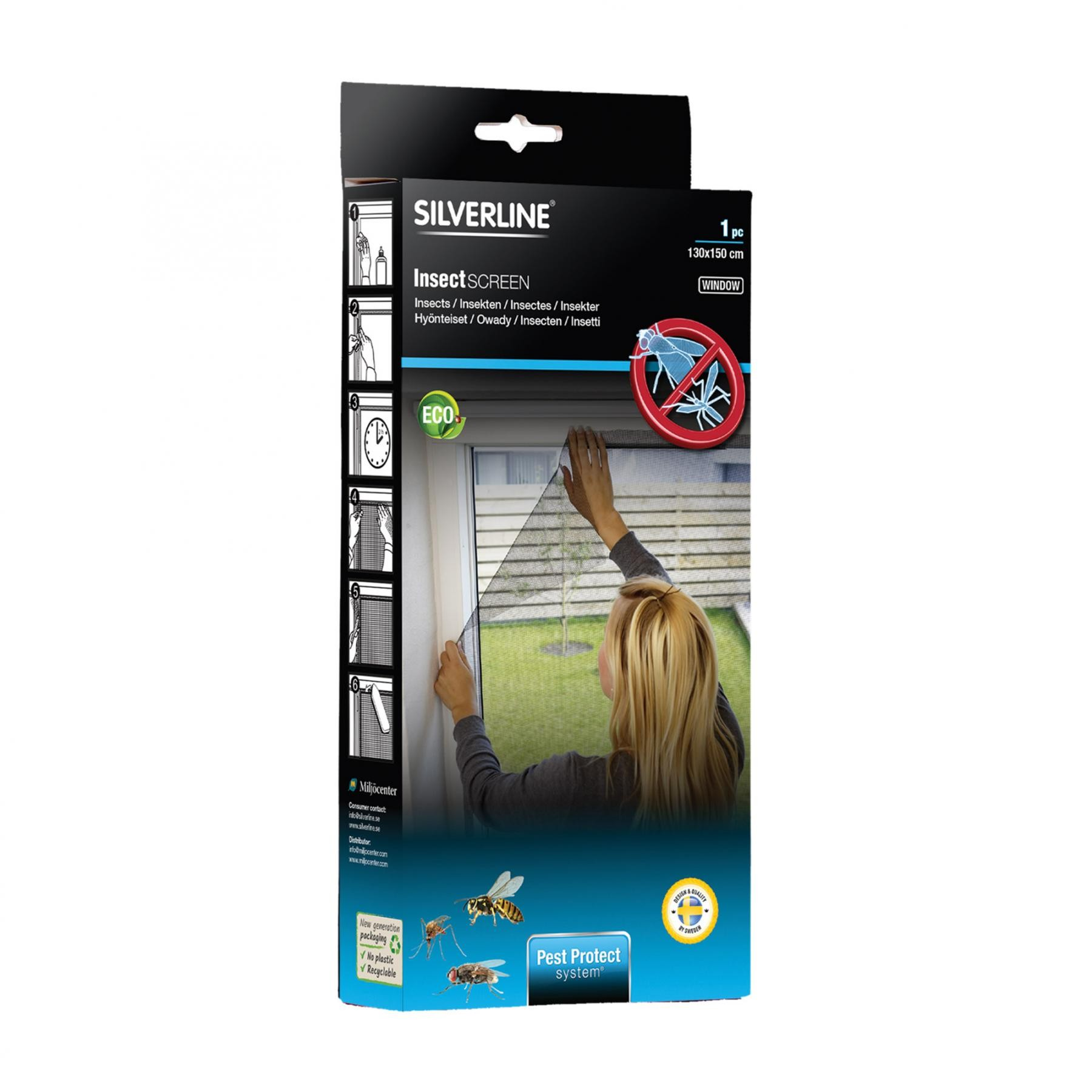Sieťka proti komárom na okno