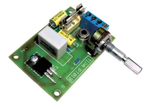 Elektronická Stavebnica Triakový regulátor výkonu 230V/12A PT019