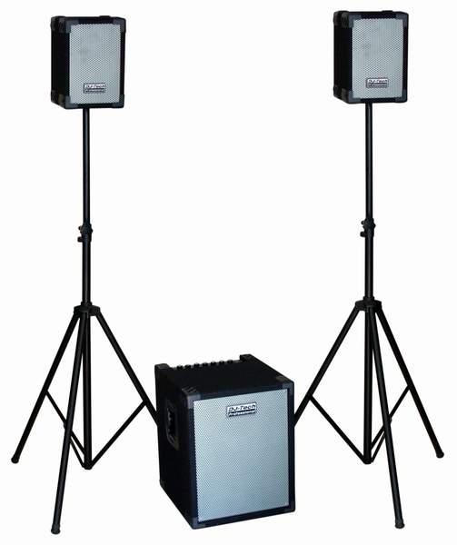 Aktívny ozvučovací set 2.1 DJ-tech CUBE202