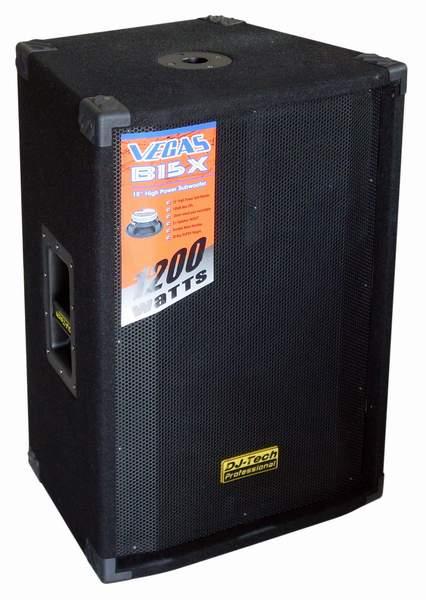 """15"""" subwoofer DJ-tech VEGAS B15X"""