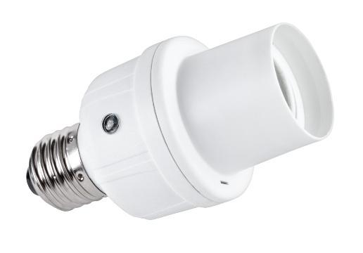 Pätica žiarovky so senzorom