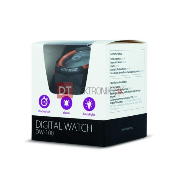 Hodinky digitálne FOREVER DW-100 - Náramkové hodiny - HODINY A ... 51fdb581d78