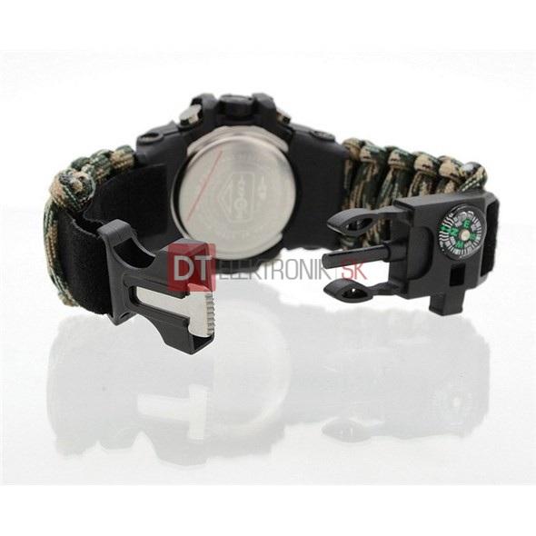 OUTDOOR hodinky CATTARA s teplomerom WATERPROOF 30M - Náramkové ... 82e0206f88
