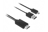 Kábel MHL Micro USB / HDMI TV FullHD