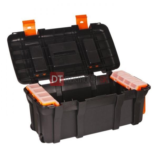 d521546167e1a Plastový box / kufrík na náradie na kolieskach - Kufríky a plastové ...