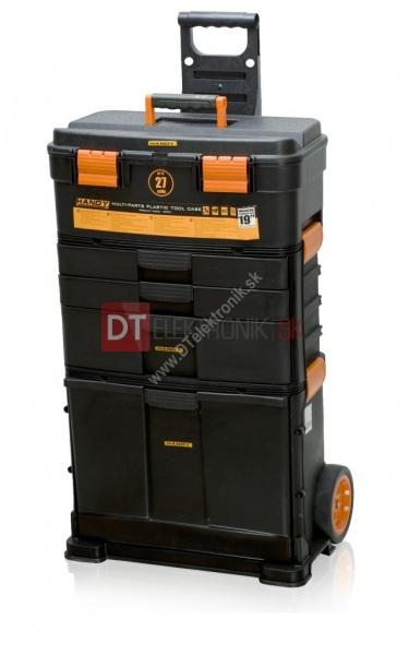 14ec69f49598a Rozkladací plastový kufrík na náradie na kolieskach 19