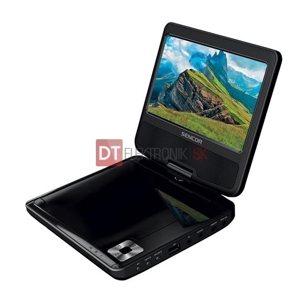 518c1b91aaec4 DVD prehrávač SENCOR SPV 2722 BLACK prenosný - LCD TELEVÍZOR ...
