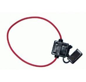 PO009 Poistkové púzdro na nožové autopoistky (30mm) s káblom 30cm
